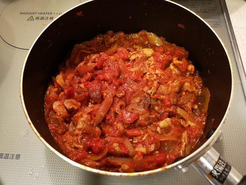 豚こま肉のトマト煮込み (8)