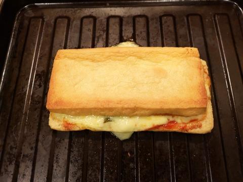 油揚げのサンドピザ (7)