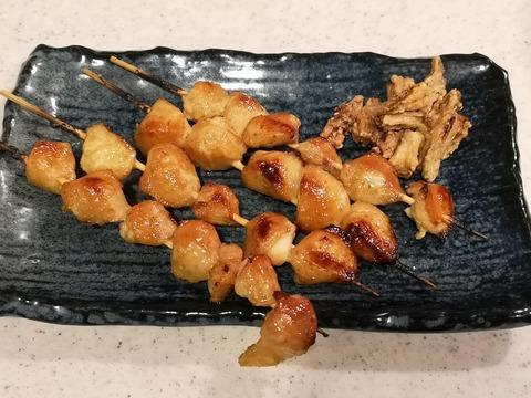 ぼんじり串焼き (10)
