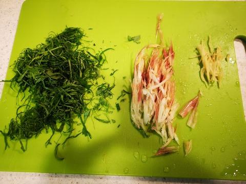 ツバスの燻製炙り (4)