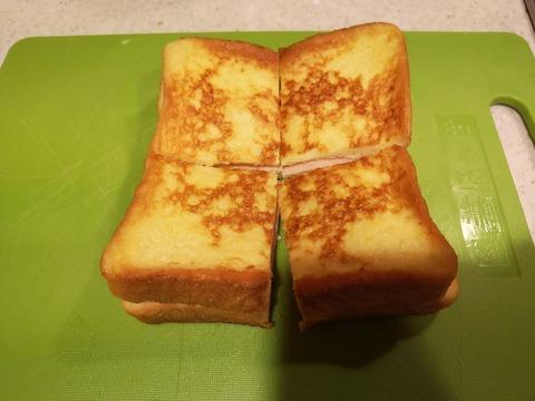 フレンチトーストサンド (9)