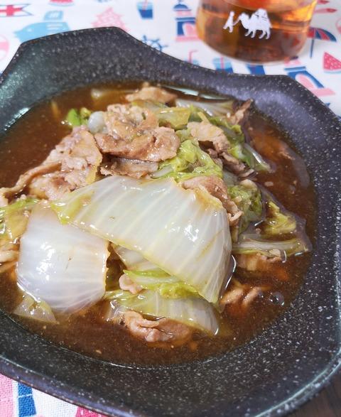 白菜のトロトロ煮 (1)