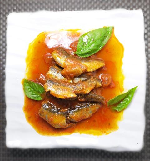鰯のトマト煮 (1)