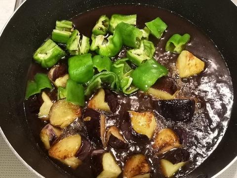 夏野菜の玉子丼 (7)