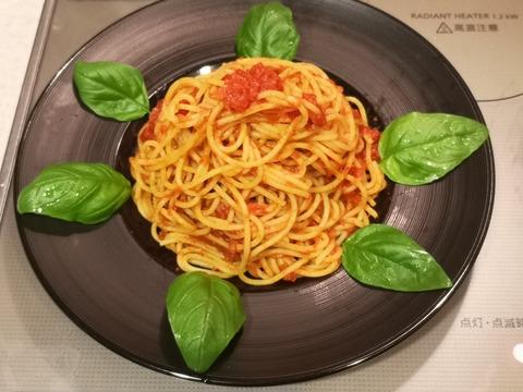 燻製トマトソースパスタ (11)
