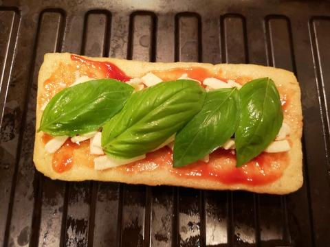 油揚げのサンドピザ (3)