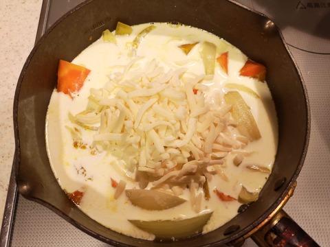 カボチャのチーズクリーム煮 (5)
