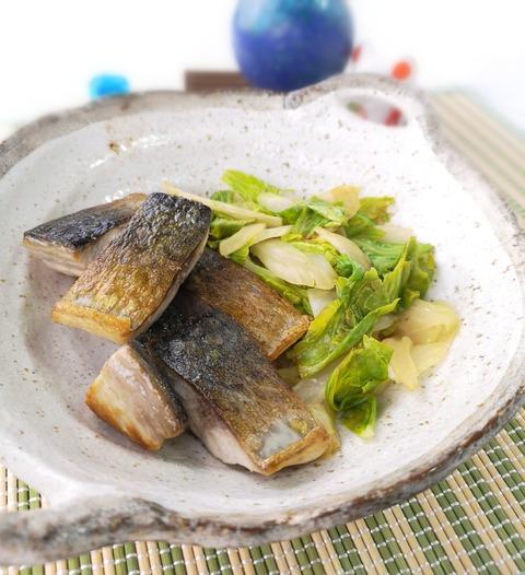 鯖とセロリのさっぱり炒め (1)