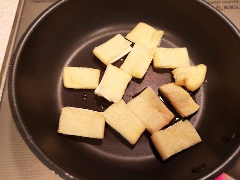 きくらげと厚揚げの味噌炒め (4)
