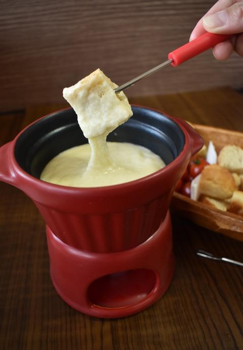 チーズフォンデュ鍋 (4)