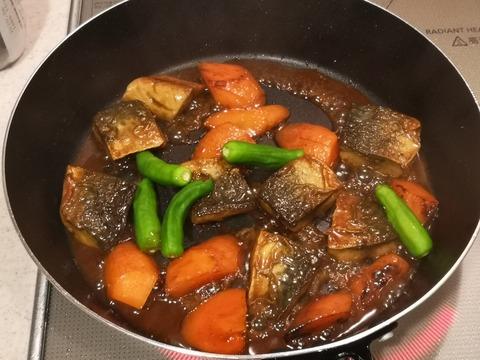 鯖のオイスターソース煮 (7)