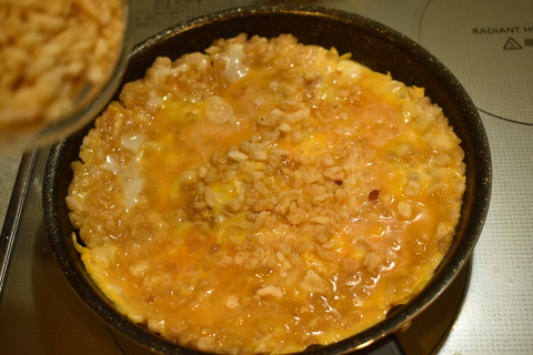 天かすチー玉丼 (5)