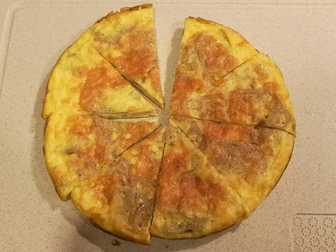 れんこんチーズオムレツ (8)