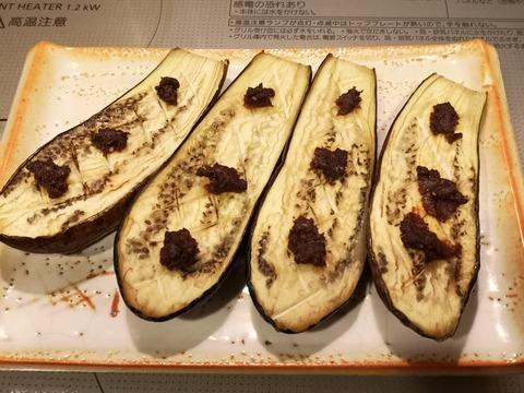 茄子のごま味噌焼き (6)