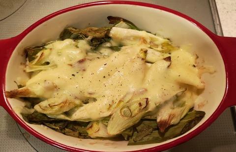 白ねぎのチーズ焼き (8)