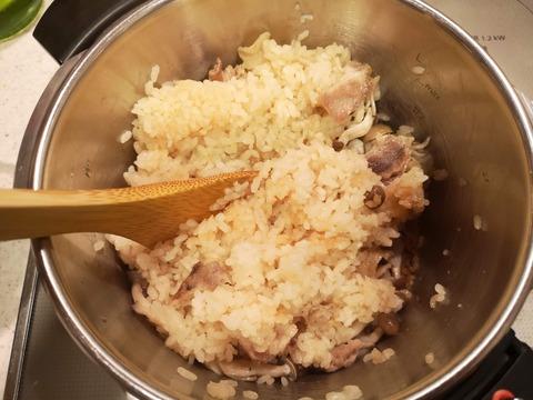 豚肉としめじの炊き込みご飯 (7)