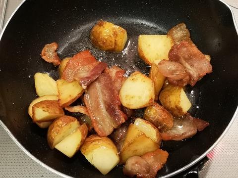 豚バラポテト焼き (5)