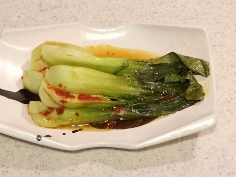 チンゲン菜のピリ辛ホイル焼き (7)