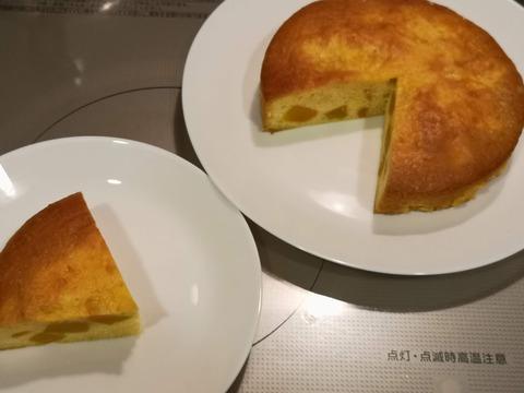 蜜漬けカボチャの蜜ケーキ (17)