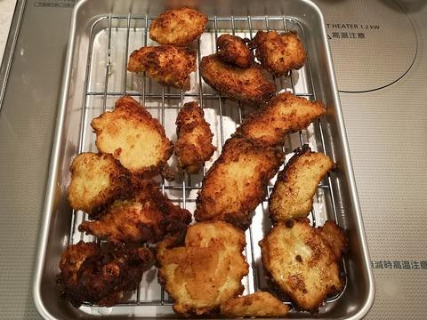 鶏むね肉の味噌唐揚 (7)