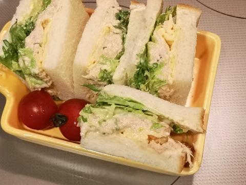 ツナマヨ玉子サンド (12)