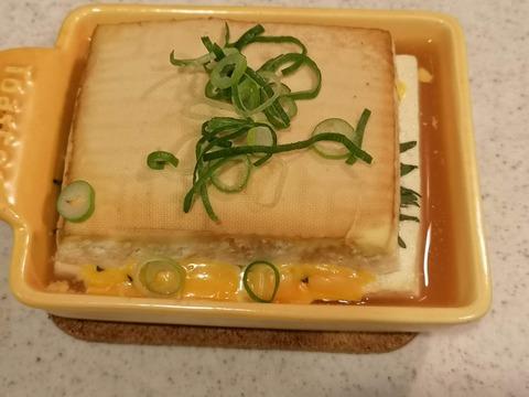 木綿豆腐のチーズ挟み焼き (8)
