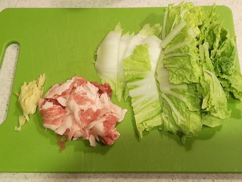 白菜のトロトロ煮 (2)