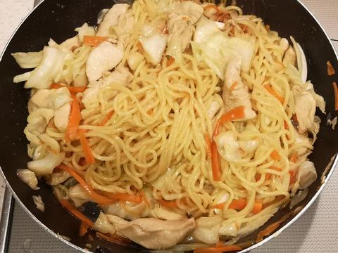 鶏焼きラーメン (7)