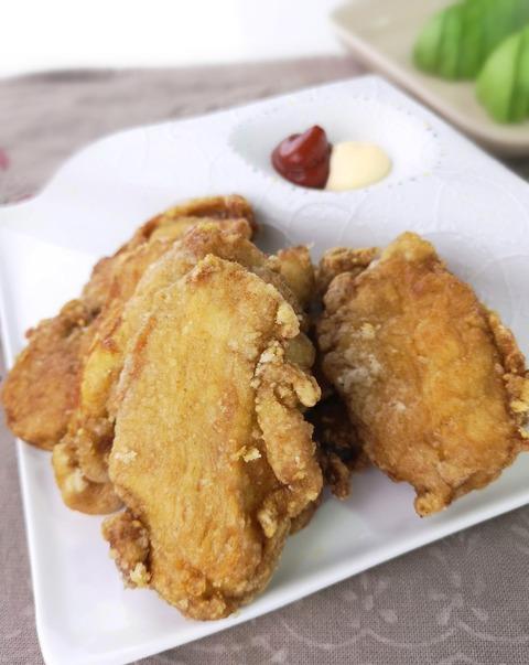 鶏むね肉のスパイス唐揚 (1)