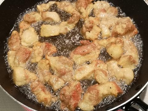 豚唐チーズソース (7)
