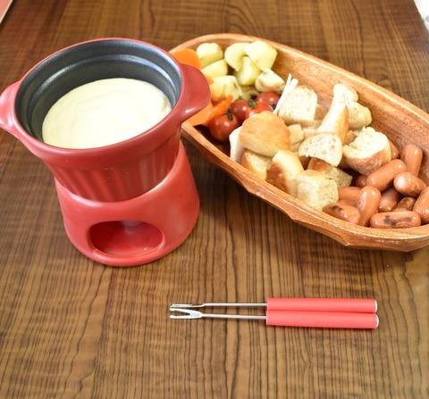 チーズフォンデュ鍋 (3)