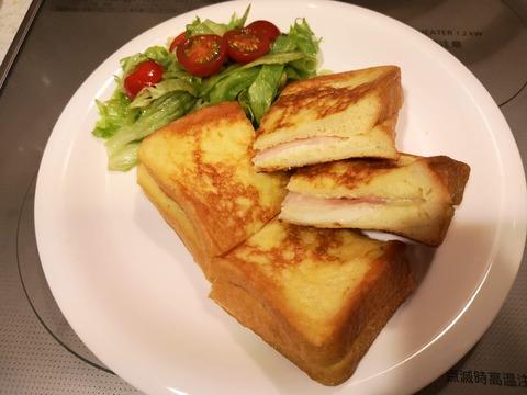 フレンチトーストサンド (10)