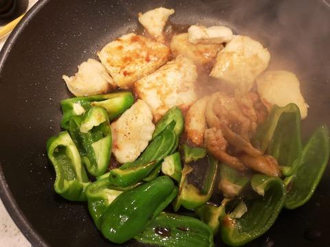 鶏むね肉の照焼き丼 (6)