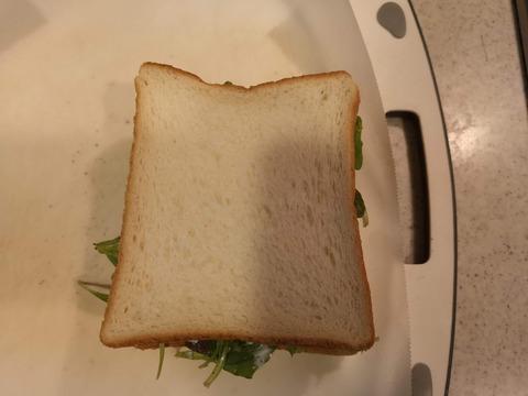 ベビーリーフサンドイッチ (5)