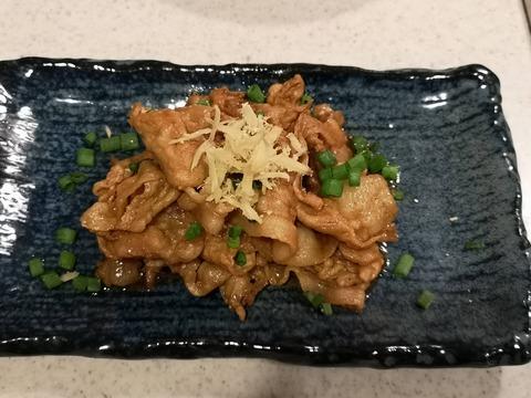後のせ生姜焼き (5)