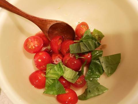 ミニトマトのピリっとサラダ (5)