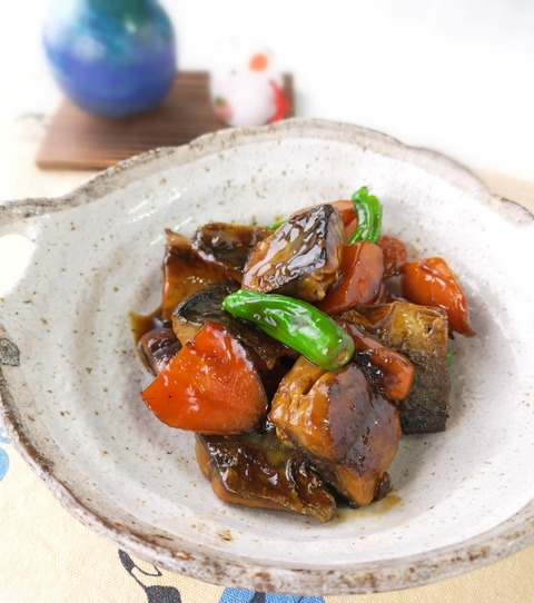 鯖のオイスターソース煮 (1)