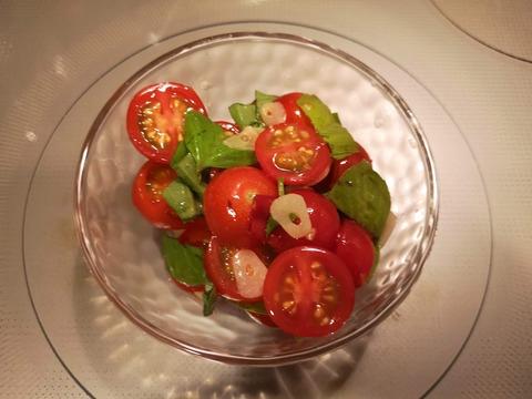 ミニトマトのピリっとサラダ (6)