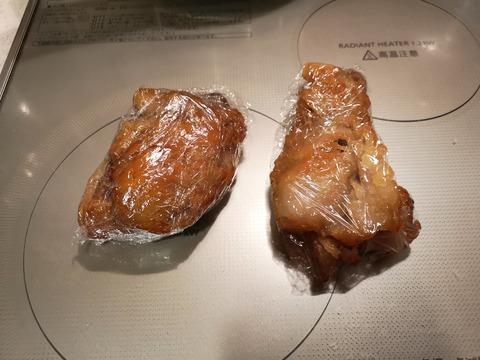 塩漬け牛脂の燻製 (6)