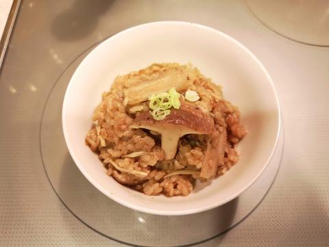 きのこの練りごま炊き込みご飯 (6)