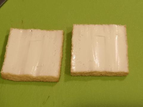 厚揚げの醤油マヨネーズ焼き (2)