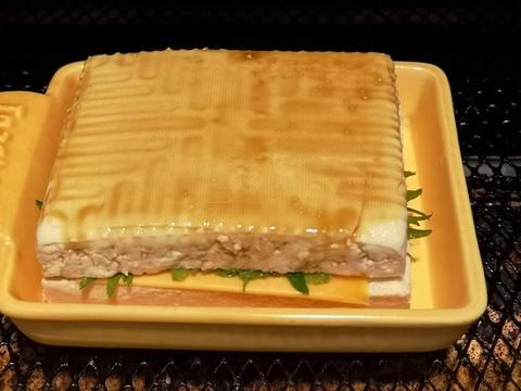 木綿豆腐のチーズ挟み焼き (7)