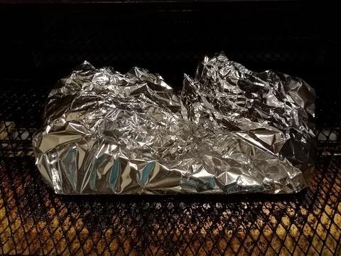 チンゲン菜のピリ辛ホイル焼き (5)