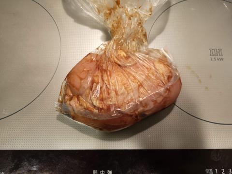 鶏むね肉の醤油焼き (2)