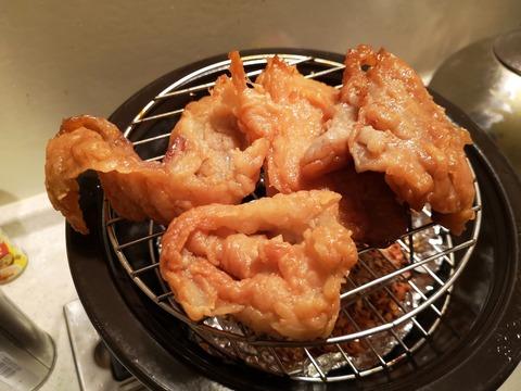 塩漬け牛脂の燻製 (4)
