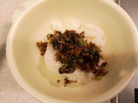 小松菜と豚肉の変わりおにぎり (6)