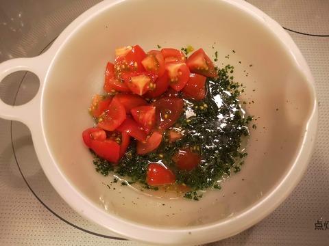 鮭のフライ レモンパセリソース (3)