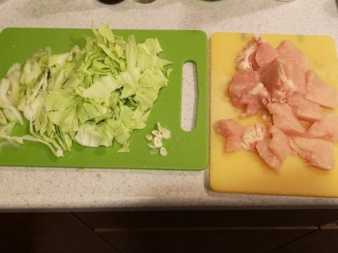 鶏むね肉のコンソメライス (2)