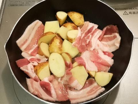 豚バラポテト焼き (3)