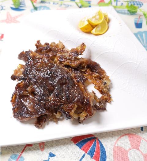 カリカリ牛肉焼き (1)